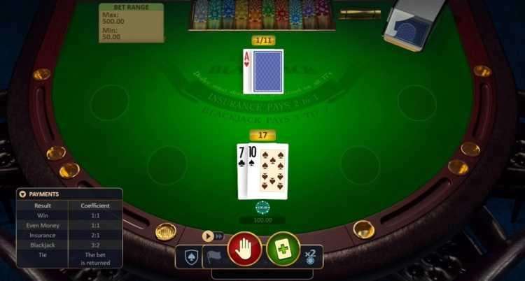 free online blackjack