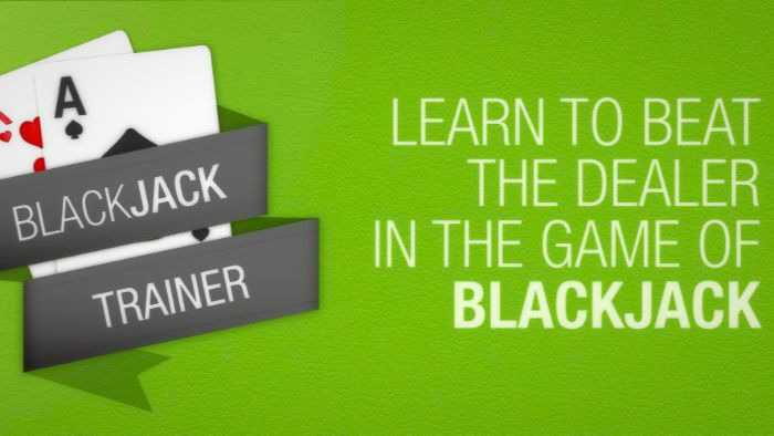 Blackjack strategy trainer: best newbie's apps to use