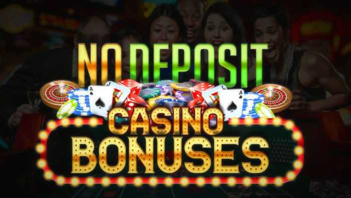No deposit casino bonuses and codes for their activation in Australia